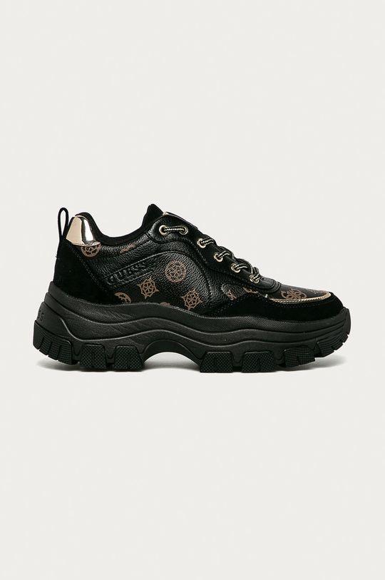 čierna Guess Jeans - Topánky Dámsky