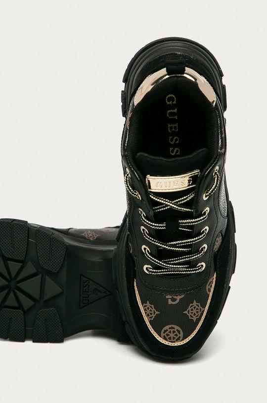 černá Guess Jeans - Boty