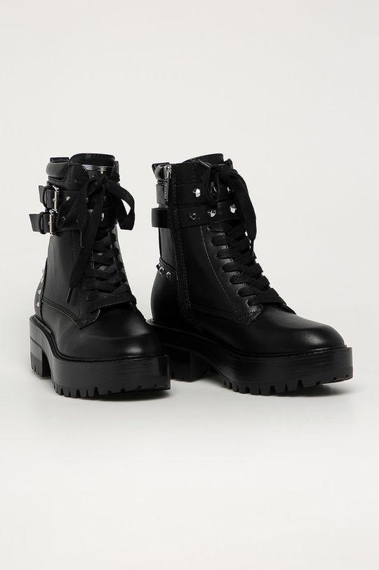 Guess Jeans - Workery czarny