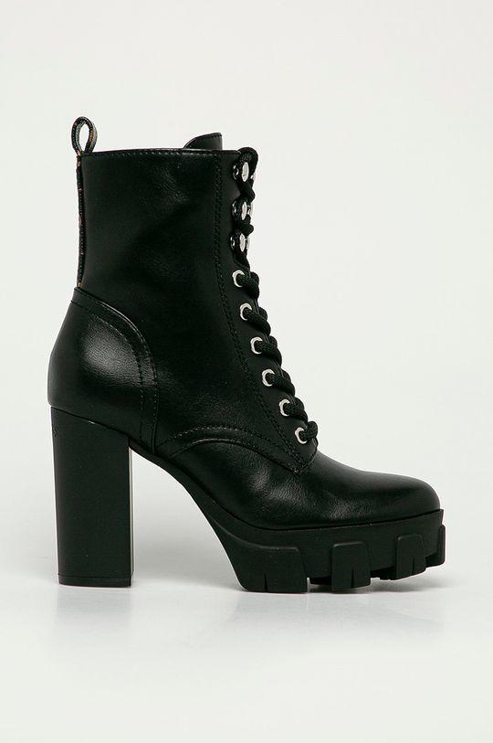čierna Guess Jeans - Členkové topánky Dámsky