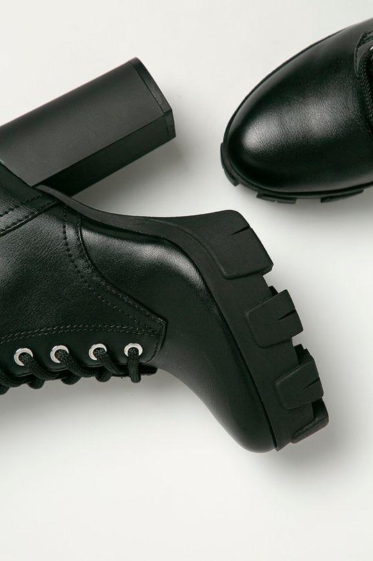 čierna Guess Jeans - Členkové topánky