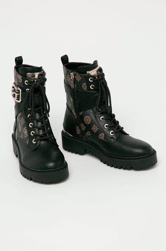 Guess Jeans - Farmářky černá