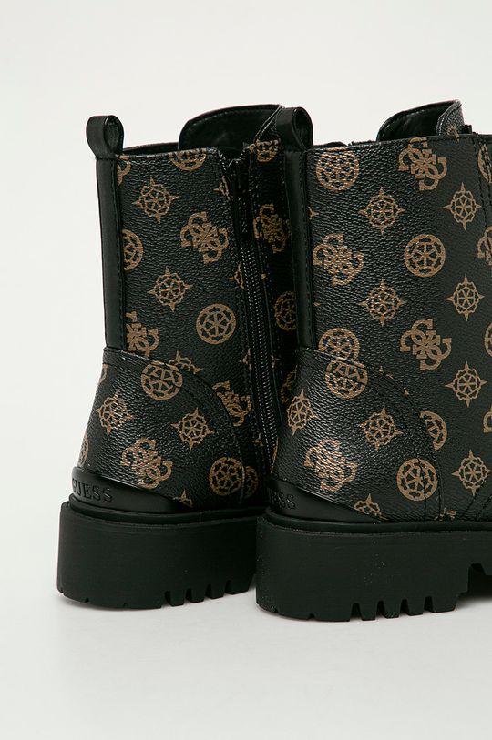 Guess Jeans - Nízké kozačky  Svršek: Umělá hmota Vnitřek: Umělá hmota, Textilní materiál, Přírodní kůže
