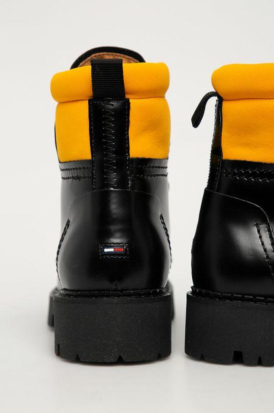 Tommy Jeans - Workery skórzane Cholewka: Materiał tekstylny, Skóra naturalna, Wnętrze: Materiał tekstylny, Skóra naturalna, Podeszwa: Materiał syntetyczny