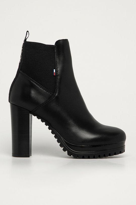 negru Tommy Jeans - Cizme de piele De femei