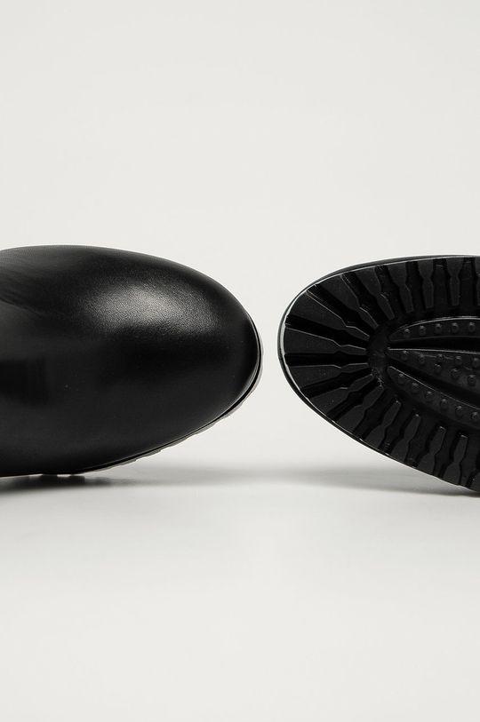 negru Tommy Jeans - Cizme de piele