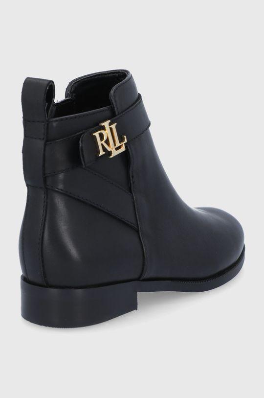 Lauren Ralph Lauren - Kožené kotníkové boty  Svršek: Přírodní kůže Vnitřek: Umělá hmota, Textilní materiál Podrážka: Umělá hmota