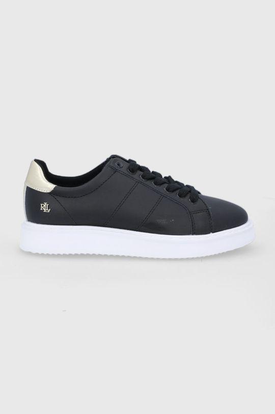 černá Lauren Ralph Lauren - Kožené boty Dámský