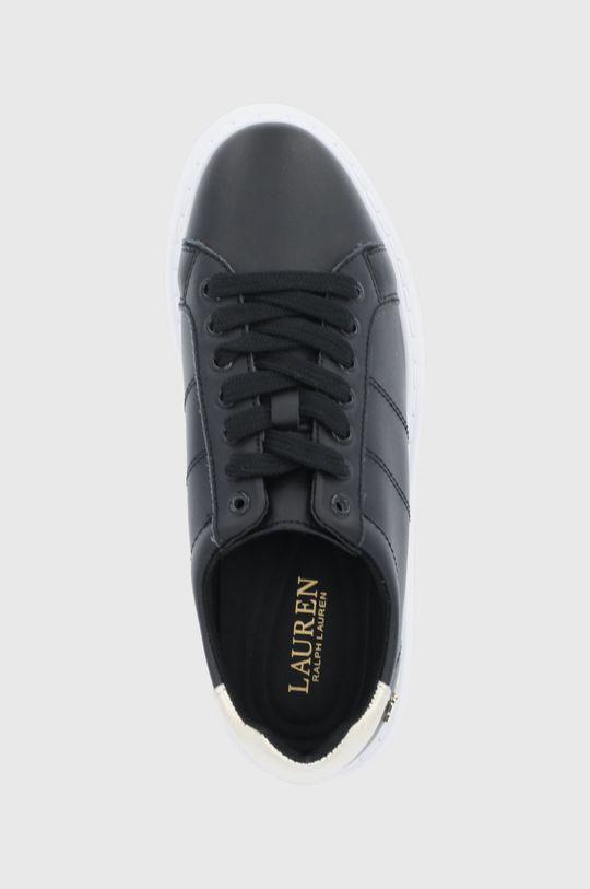 černá Lauren Ralph Lauren - Kožené boty