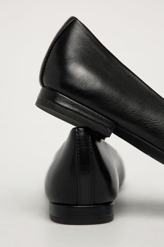 Lauren Ralph Lauren - Balerini de piele  Gamba: Piele naturala Interiorul: Material sintetic Talpa: Material sintetic