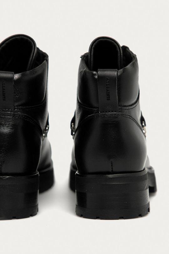 czarny AllSaints - Botki skórzane Lia