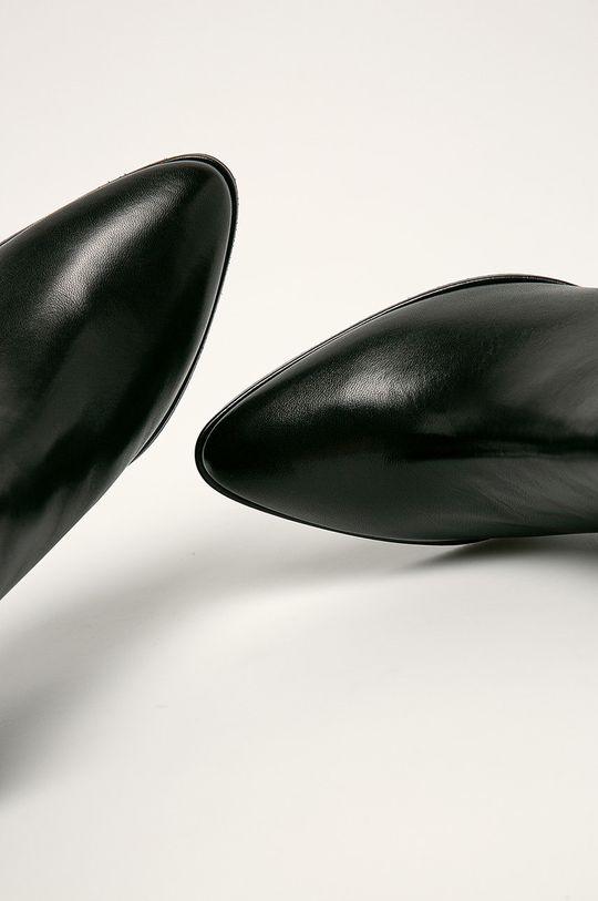 Stuart Weitzman - Kožené členkové topánky Gardiner Dámsky