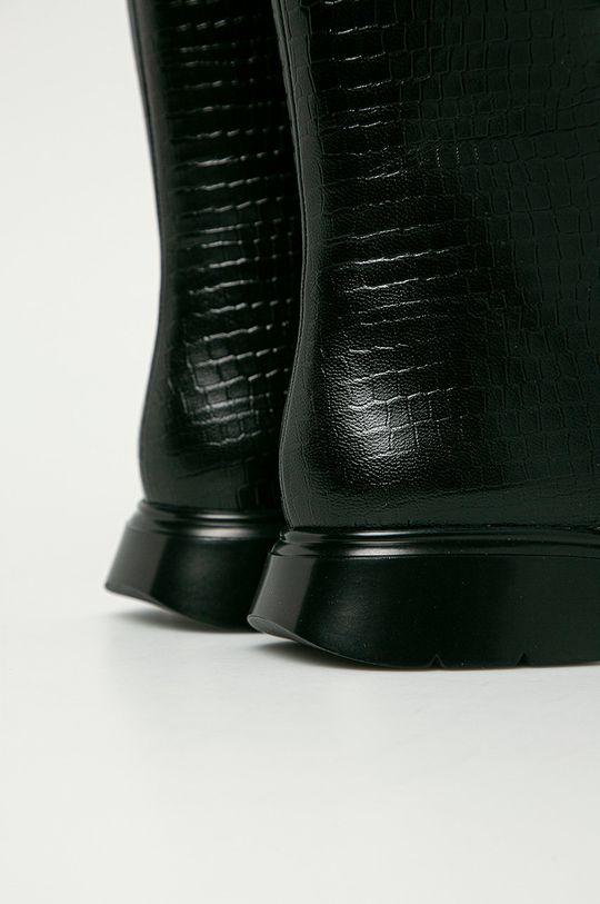 Stuart Weitzman - Kožené kotníkové boty McKenzee  Svršek: Přírodní kůže Vnitřek: Přírodní kůže Podrážka: Umělá hmota