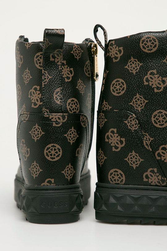 brązowy Guess Jeans - Botki