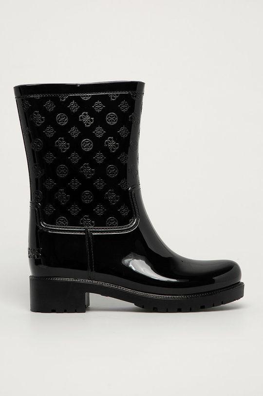 чёрный Guess Jeans - Резиновые сапоги Женский