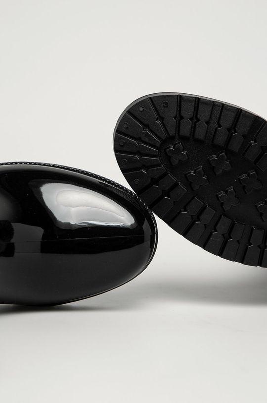 чёрный Guess Jeans - Резиновые сапоги