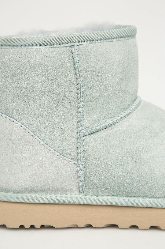 UGG - Cizme de zapada din piele intoarsa Classic Mini De femei