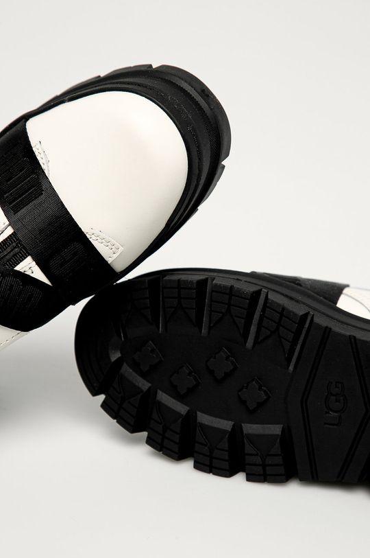 biały UGG - Buty skórzane Sid