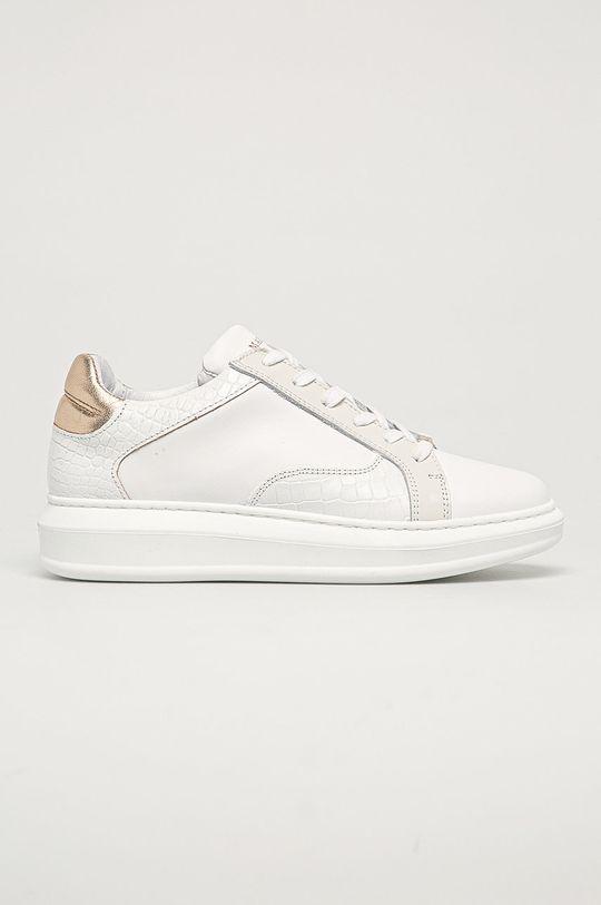 bílá Marciano Guess - Kožené boty Dámský