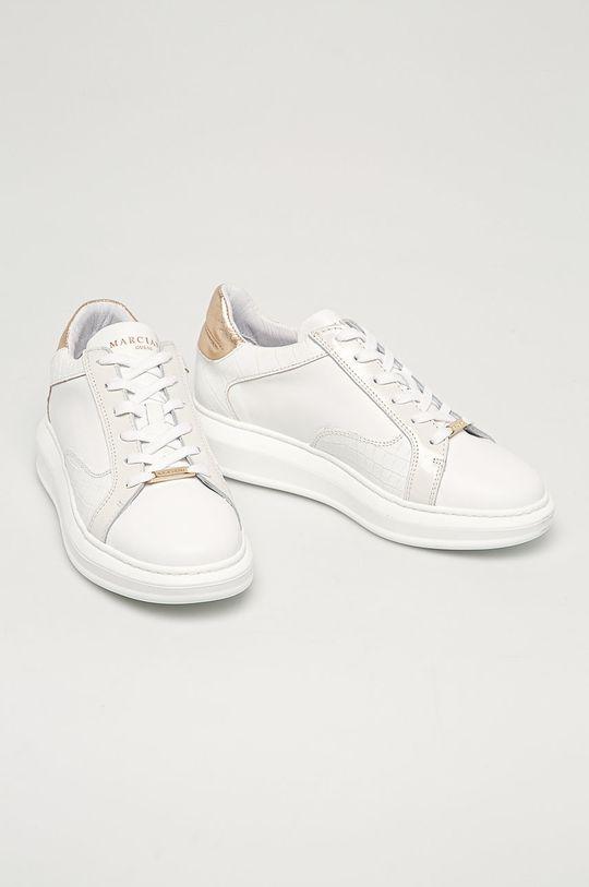 Marciano Guess - Kožené boty bílá