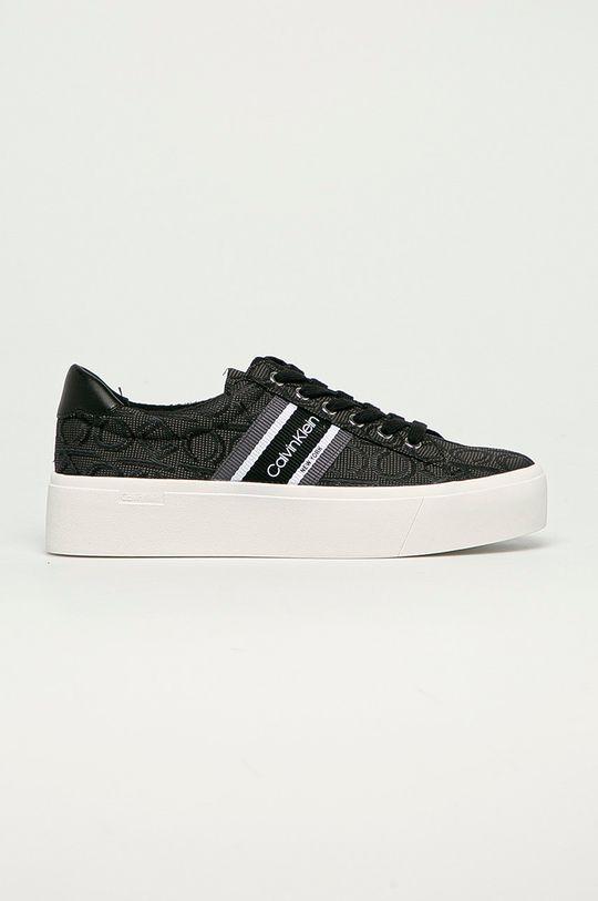 čierna Calvin Klein - Tenisky Dámsky
