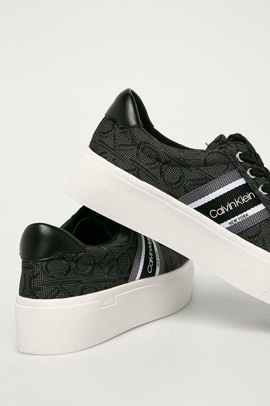 Calvin Klein - Tenisky  Zvršok: Syntetická látka, Textil Vnútro: Textil Podrážka: Syntetická látka