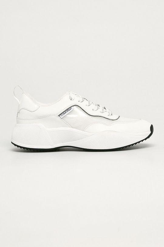 biały Calvin Klein - Buty Damski