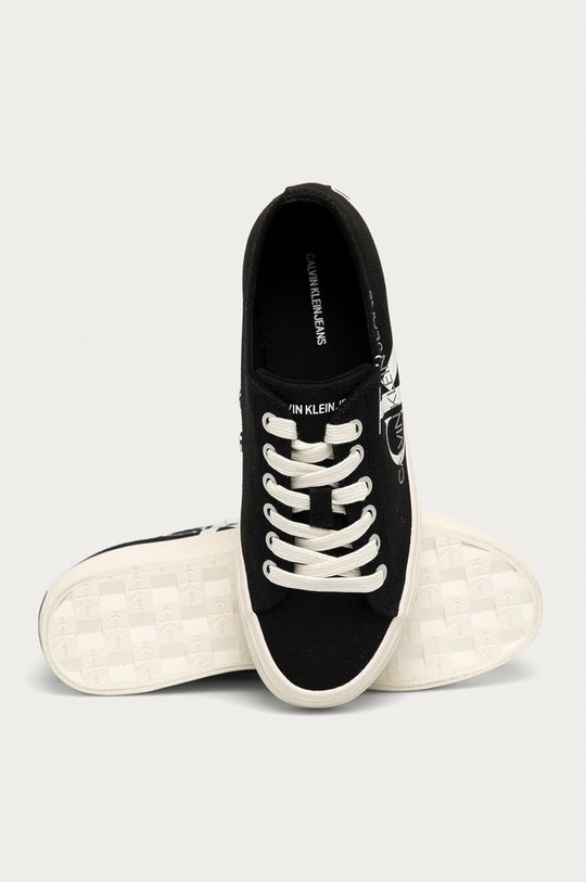 čierna Calvin Klein Jeans - Tenisky