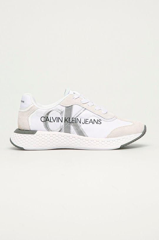 bílá Calvin Klein Jeans - Boty Dámský