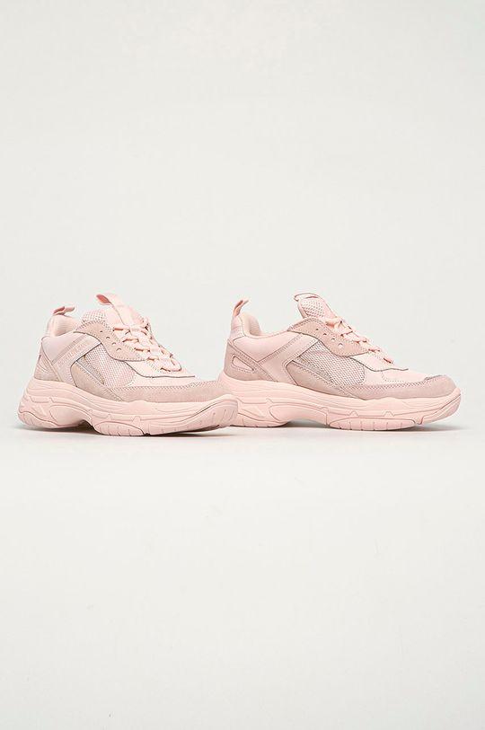 Calvin Klein Jeans - Boty pastelově růžová