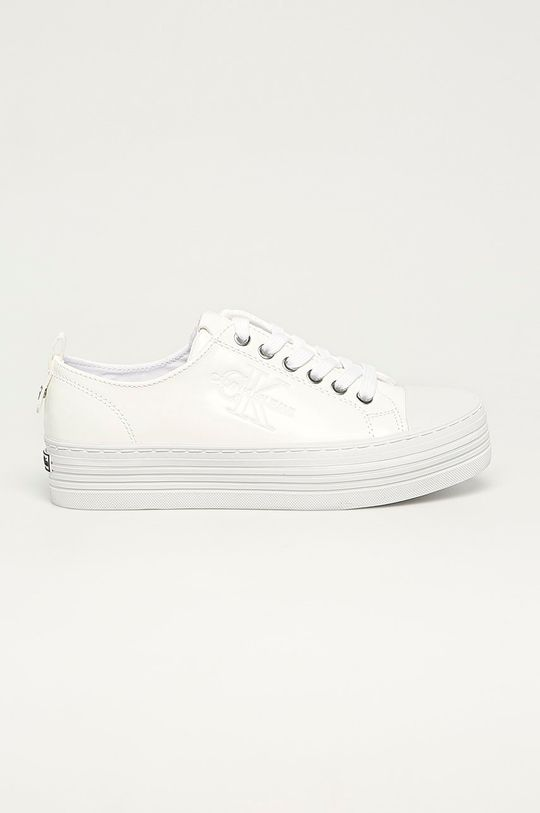 bílá Calvin Klein Jeans - Tenisky Dámský
