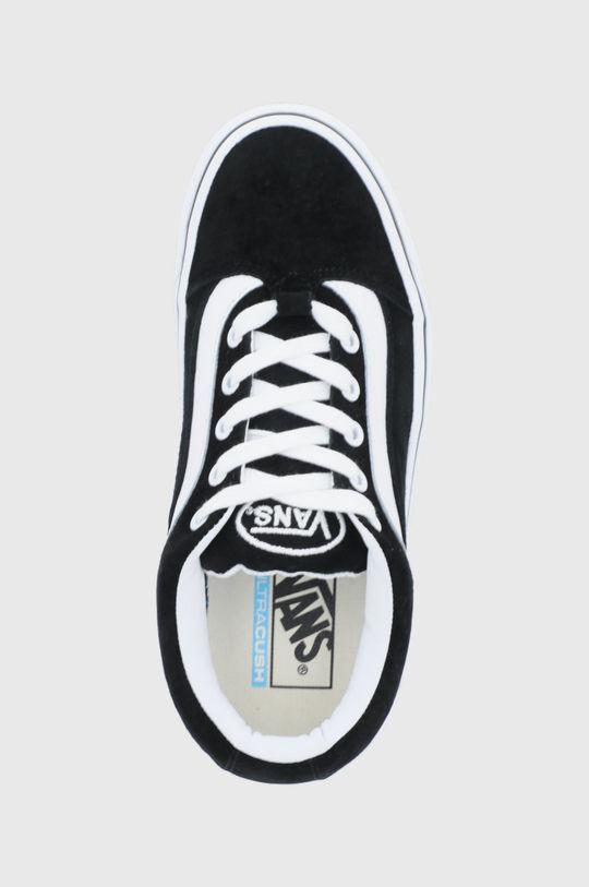 černá Vans - Kožené tenisky