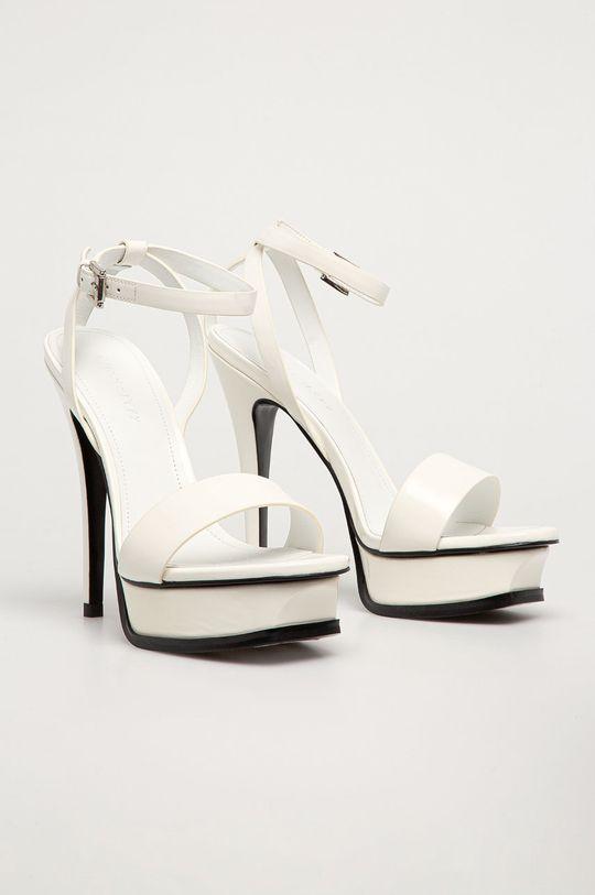 Miss Sixty - Sandały skórzane biały