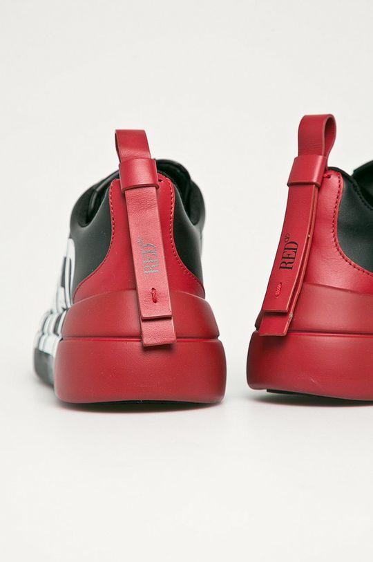 Red Valentino - Kožená obuv  Zvršok: Prírodná koža Vnútro: Textil, Prírodná koža Podrážka: Syntetická látka