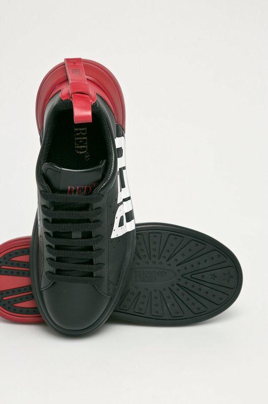 čierna Red Valentino - Kožená obuv