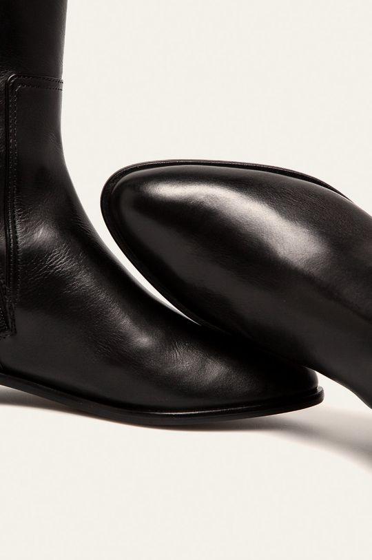 Emporio Armani - Шкіряні чоботи Жіночий