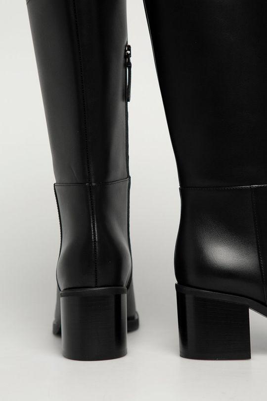 Emporio Armani - Ghete de piele  Gamba: Piele naturala Interiorul: Piele naturala Talpa: Material sintetic