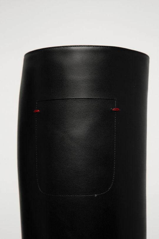 negru Emporio Armani - Ghete de piele
