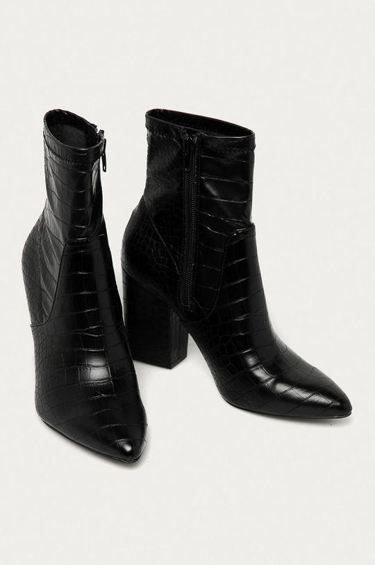 Call It Spring - Členkové topánky Liivi čierna