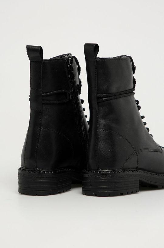 Aldo - Kožené kotníkové boty Onoressa  Svršek: Přírodní kůže Vnitřek: Umělá hmota, Textilní materiál Podrážka: Umělá hmota