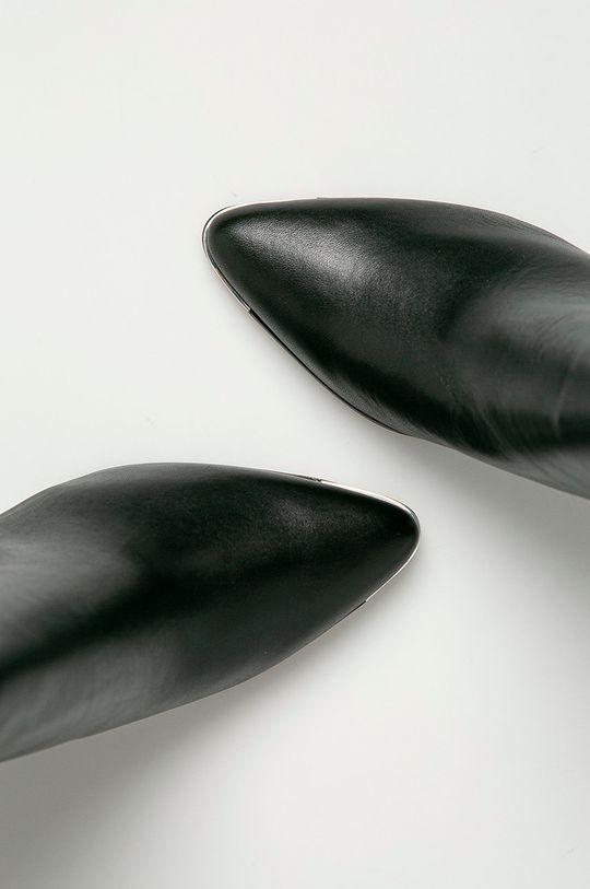černá Aldo - Nízké kozačky Janeeceflex