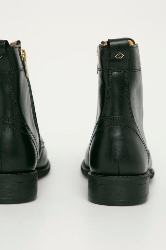 czarny Gant - Botki skórzane Ainsley