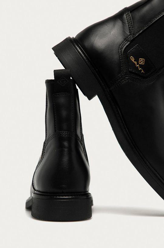 Gant - Kožené kotníkové boty Ashleyy  Svršek: Přírodní kůže Vnitřek: Textilní materiál, Přírodní kůže Podrážka: Umělá hmota