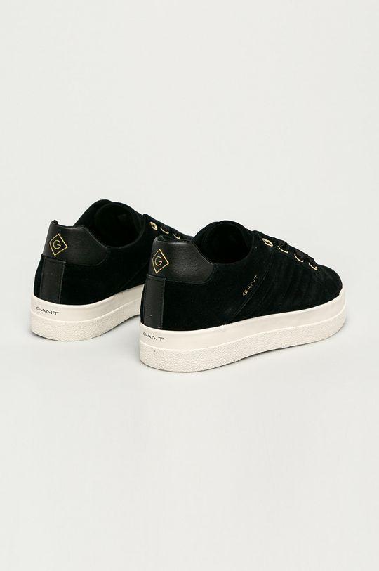 czarny Gant - Buty skórzane