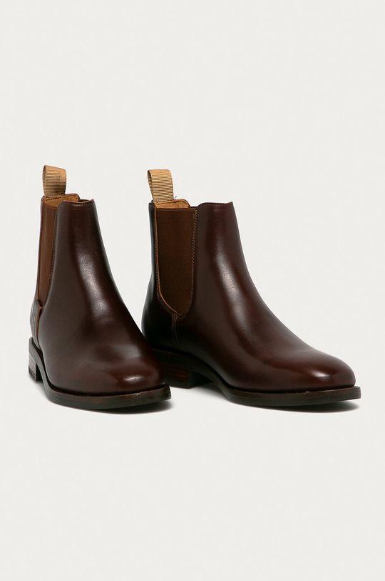 Gant - Дитячі черевики Fayy темно-коричневий
