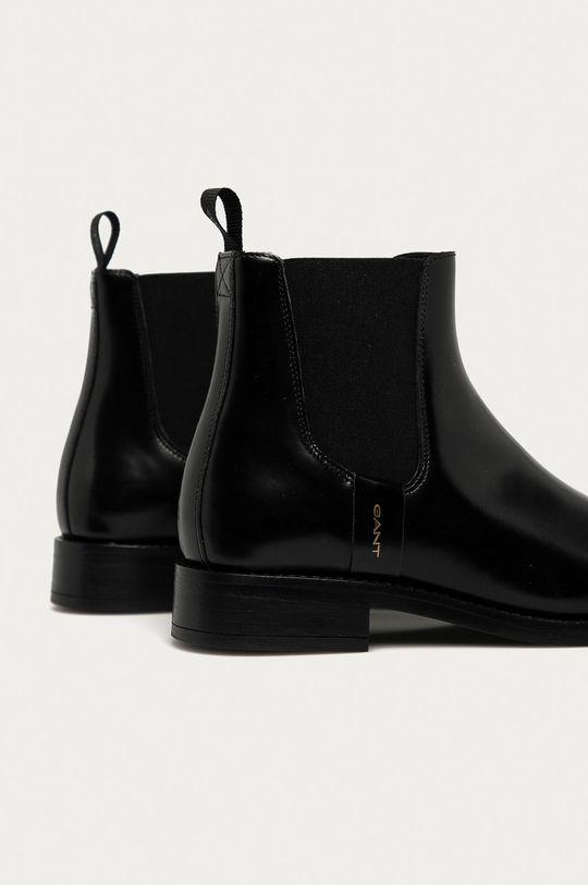 Gant - Kožené topánky Chelsea Fayy  Zvršok: Prírodná koža Vnútro: Textil, Prírodná koža Podrážka: Syntetická látka