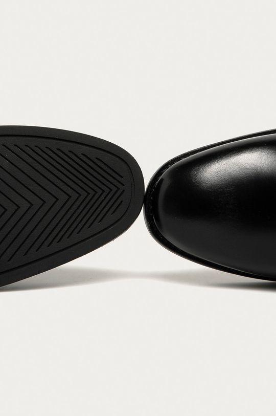 čierna Gant - Kožené topánky Chelsea Fayy
