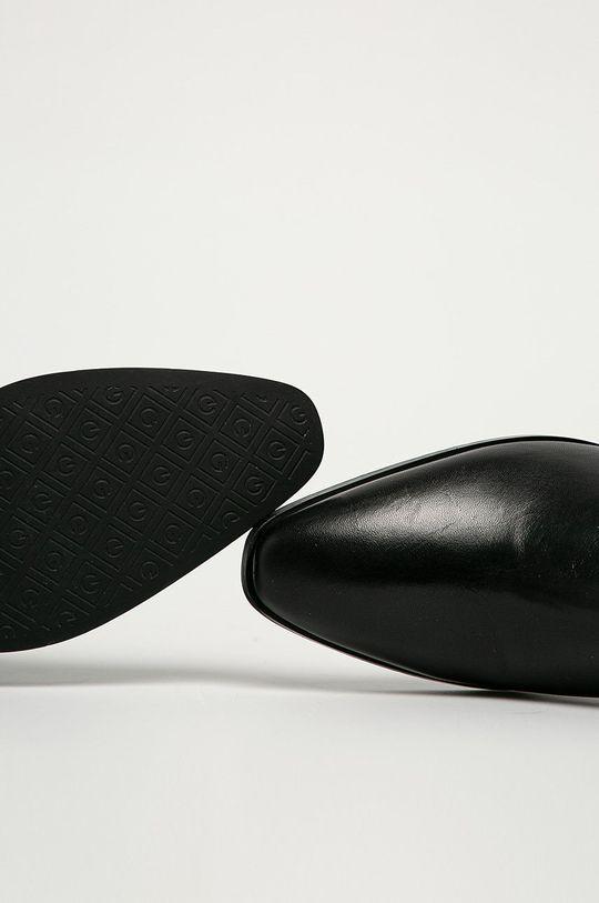 czarny Gant - Botki skórzane Isla