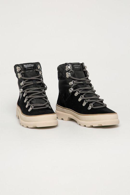 Gant - Členkové topánky Kaari čierna