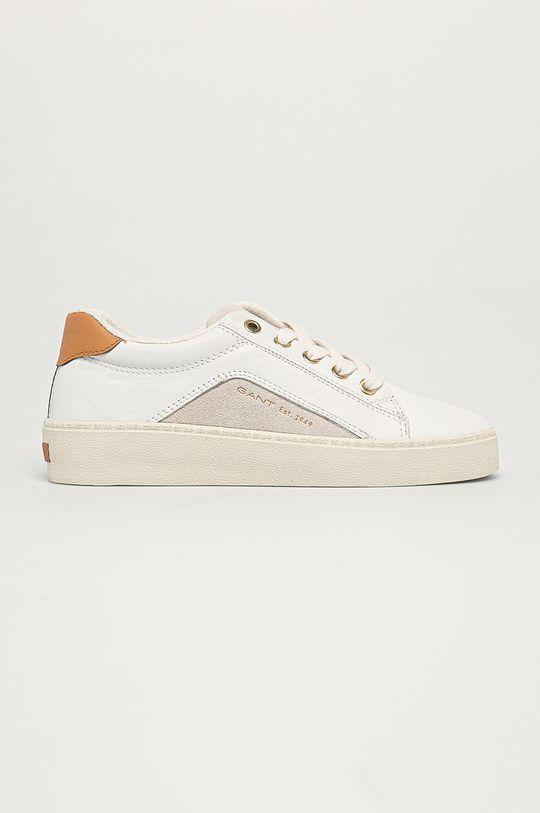biały Gant - Buty skórzane Lagalilly Damski